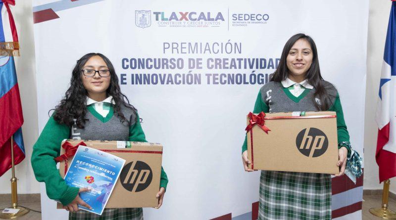 Premia SEDECO a ganadores del concurso «Creatividad e Innovación Tecnológica»