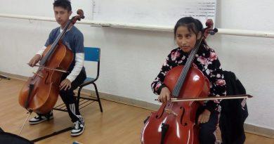 Forja Escuela de Música Elemental de la capital nuevos artistas