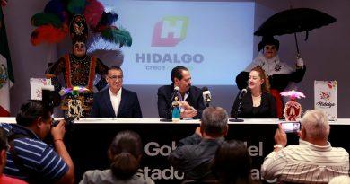 Presenta SECTURE programa del «Carnaval Tlaxcala 2020» en Hidalgo
