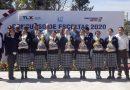 Telesecundaria «Instituto Las Peñas» ganadora de la concurso de escoltas