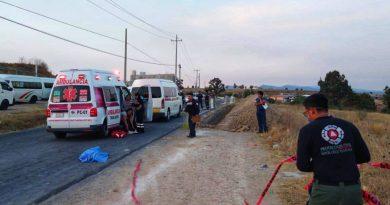 Muere por atropellamiento un menor en Santa Cruz