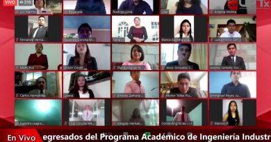 Inician ceremonias de titulación totalmente en línea en la UPTx; están haciendo historia: Padilla Sánchez a los nuevos ingenieros
