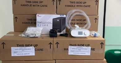 Recibe SESA donación de 15 ventiladores para atender a pacientes de Covid-19