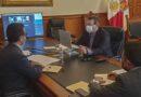 Acuerdan Marco Mena y Manuel Espino ofertar mil 500 plazas laborales para tlaxcaltecas