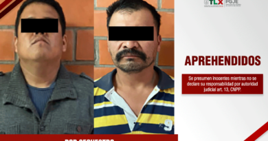 Capturan Procuradurìa de Tlaxcala y Fiscalìa de Veracruz a dos imputados por secuestro