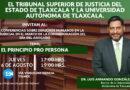 Disertará rector de UATx videoconferencia en Poder Judicial