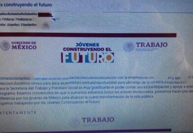 Denuncian corrupción en Jóvenes Construyendo el Futuro