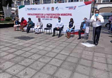 Inician operaciones «Brigadas municipales ante Covid-19» en Zacatelco: SESA