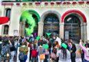 Marchan en Tlaxcala por la despenalización del aborto