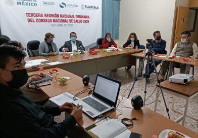Participa SESA en III Reunión del Conejo Nacional de Salud
