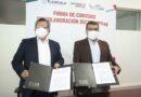 Firman SECTE y UPTREP convenio de colaboración para conductores mercantiles