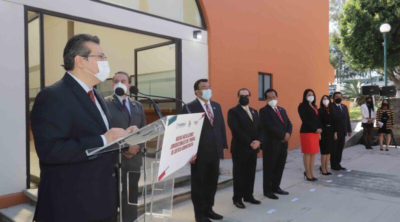 Tlaxcala, estado con instituciones fuertes: Marco Mena