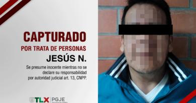Cumplimenta PGJE orden de aprehensión contra probable tratante de personas