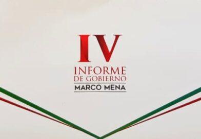 Alistan IV Informe de Marco Mena