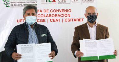 Signan CGE y UPTREP convenio de colaboración para desarrollar proyectos conjuntos