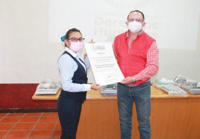 Certifica SEDH tres escuelas promotoras de Derechos Humanos