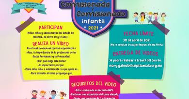 """Niñas y niños reflexionarán sobre cuidado de Datos Personales en Concurso: """"Comisionada y Comisionado Infantil"""" del IAIP"""