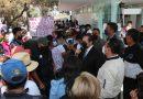 Atiende presidente del Poder Judicial a inconformes de Calpulalpan