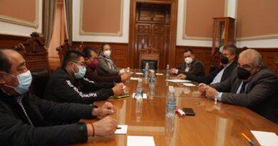Establece SEGOB mesa de diálogo entre sindicato y representantes de la empresa Amatech