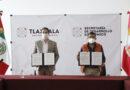 SEDECO firmó convenio de colaboración con la UPTx, UTT y el ICATLAX