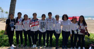 Tlaxcala inicia con pie derecho en el  Festival Deportivo de Mar y Playa en futbol femenil